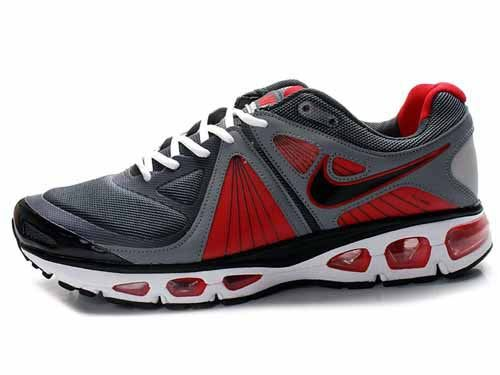 Nike Air Max 2010 Menu0027s shoes Gray/Red - Loja de tenis