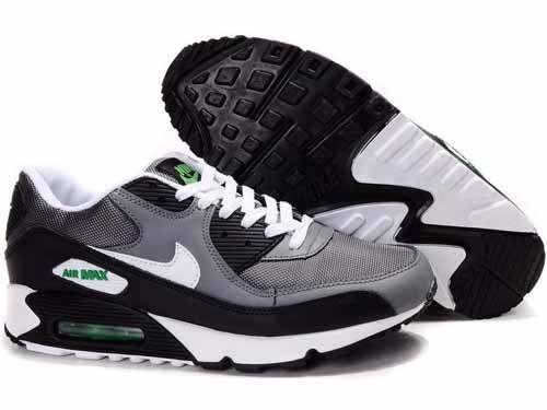 257a5a40b65 Nike Air Max 90 shoes Black White - Loja de tenis